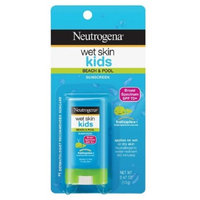 Neutrogena SPF 70 Plus Wet Skin Kids Suncreen Stick Broad Spectrum, 0.47 Ounce - 2 pack