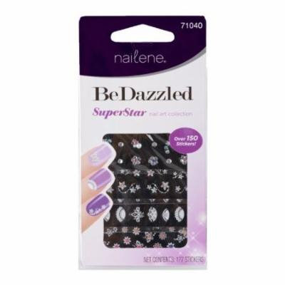 Pacific World Nailene Bedazzle Nail Art (Pack of 18)
