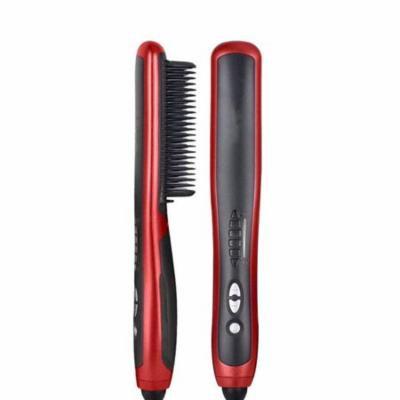 Anti Scald Electric Hair Straightener Comb Brush