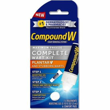6 Pack - Compound W Maximum Freeze, Complete Wart Kit 1 ea