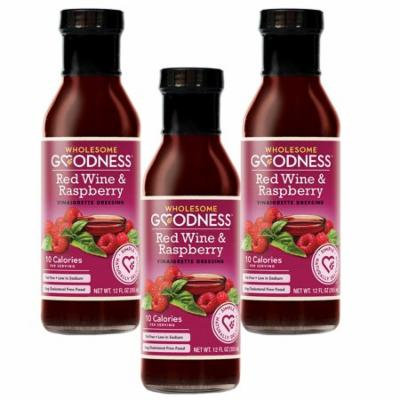 (3 Pack) Wholesome Goodness - Dressing - Raspberry Vinaigarette Fat Free