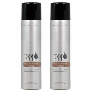 Toppik Colored Hair 5.1-ounce Thickener (Pack of 2)