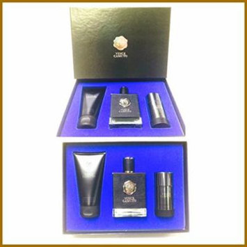 Vince Camuto for Men 3 Pc Gift Set 3.4oz EDT Spray, 5.0 Oz After Save+deo 2.5oz