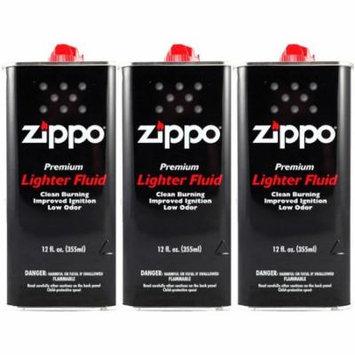 Zippo Lighter Fluid Fuel 12 fl.oz-3 Pack