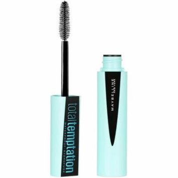 Maybelline New York Total Temptation Waterproof Mascara Very Black (Pack of 24)