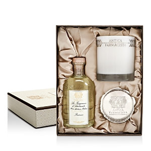 Antica Farmacista Diffuser, Candle and Tray Gift Set