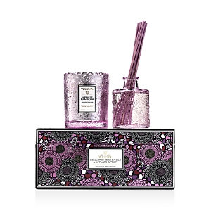 Voluspa Jpb Scalloped-Edge Candle and Diffuser Gift Set