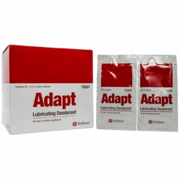 Adapt Lubricating Deodorant 8mL Packets - Box of 50