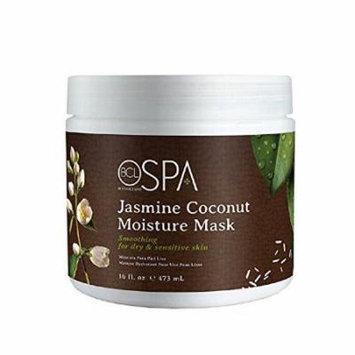 Bio Creative Lab Spa Jasmine Coconut Skin Smoothing Moisture Mask, 16 Ounce