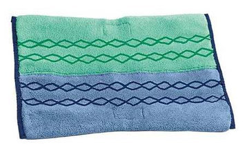 Rubbermaid Commercial HYGEN RCP1791679 Green / Blue HYGEN Microfiber