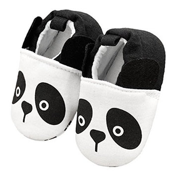 ZebraStory Unisex Baby Toddler Pre-walker Cartoon Shoes Soft Soled Cotton Crib Slippers Slip-on Baby Sneakers