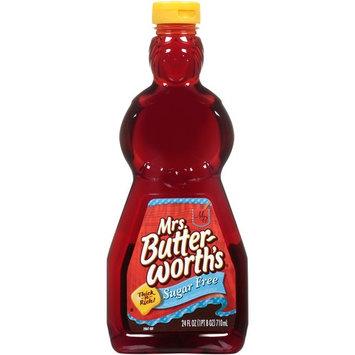 Mrs. Butterworth's Sugar-Free Syrup, 24 Oz Bottle (3 Pack)