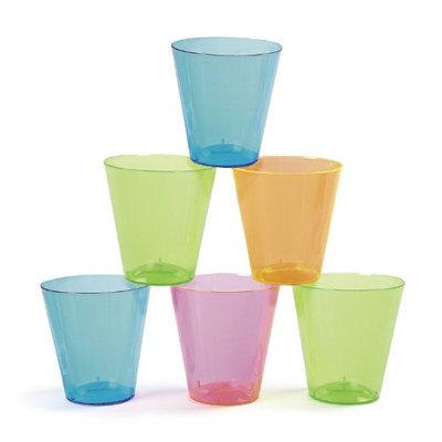 Fun Express Neon Plastic Shot Glasses (60 pc)