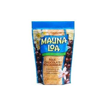 Hawaiian Value Pack Mauna Loa Macadamia Nuts Milk Chocolate 4 Bags