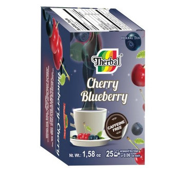 Therbal Tea Blueberry-Cherry 25 bags