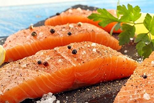 Fresh2yourdoor 7 X 6 oz. Premium Fresh Atlantic Salmon Portions, Individually Vacuum Packed, Ready to Cook.