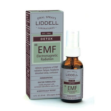 Liddell Laboratories Liddell Homeopathic Anti-Tox EleCenteromagnetic EMF Radiation - 1 fl oz - HSG-976514