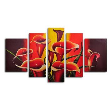 Mexican Fiesta! 5-Piece Canvas Wall Art - 68W x 40H in.