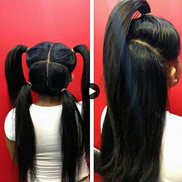 Wicca Silk Straight 180% 360 lace frontal wig Brazilian human hair 360 lace wig pre plucked for black women lace front wig with baby hair (180% density 22inch, silk straight)