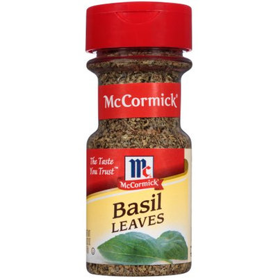 McCormick Basil Leaves, Whole, 0.62 OZ (Pack of 2)