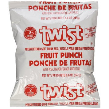 Kool-Aid Twist Fruit Punch (Makes 2-Gallons) Drink Mix
