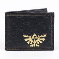 Cyberteez Legend Of Zelda Gold Foil Tri-Force Bi-Fold Nintendo Wallet