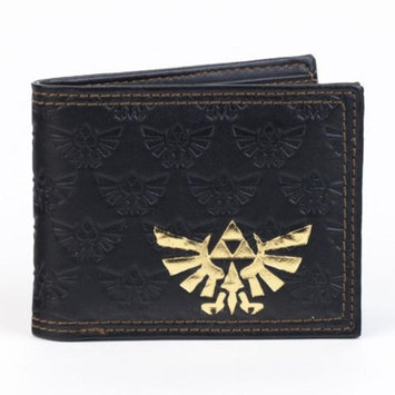 Cyberteez Legend Of Zelda Gold Foil Tri-Force Bi-Fold Nintendo Wallet