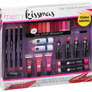 The Color Workshop Merry Kissmas Lip Collection, 29 pc
