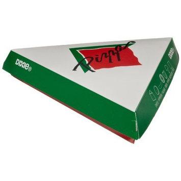 Dixie SC003 Paper Pizza Slice Carryout Carton, 9 x 1 7/10 x 9 3/8 (Case of 200)