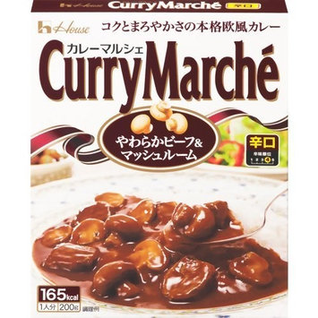 Curry Marche' Beef & Mushroom Hot 200g