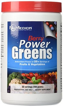 NuMedica Power Greens Berry 10.58 oz