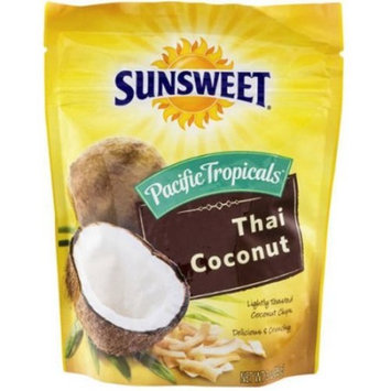 Sunsweet Pacific Tropicals Thai Coconut Lightly Toasted Coconut Chips 3 oz