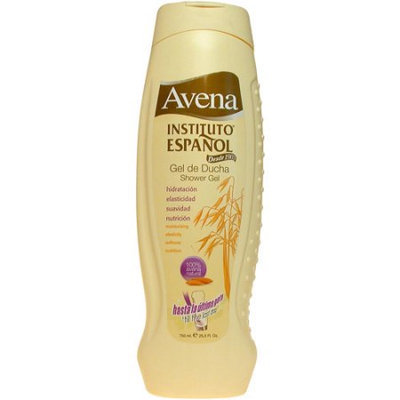 3 Bottles of Avena Instituto Espanol Gel de Ducha/Shower Gel 25.5 oz./750ml