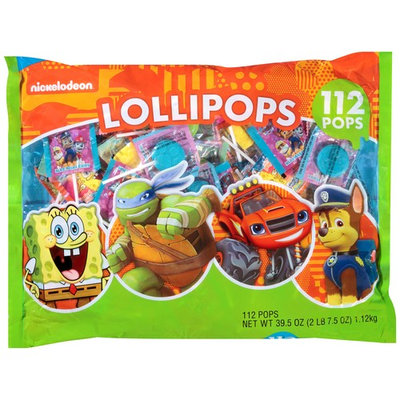 Nickelodeon Lollipops, 112 ct