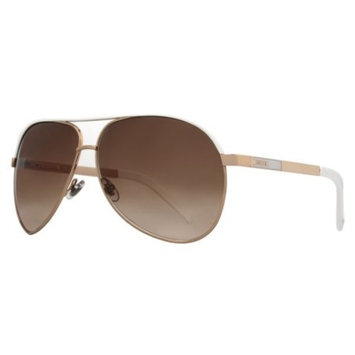 GG 1827/S BNC/IS Gold White/Brown Gradient Aviator Sunglasses