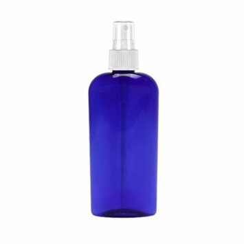 MoYo Natural Labs 8 Oz Large Mist Spray Bottle Refillable Reusable Empty 8 oz Fine Mist Bottle Cobalt Blue Oval 8 OZ (Pack of 1)