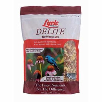 Lyric 5 LB Delite Wild Bird Food Contains Hulled White Millet