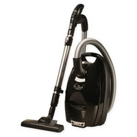 The Bank Vault BVCVA101 Canister Vacuum in Black