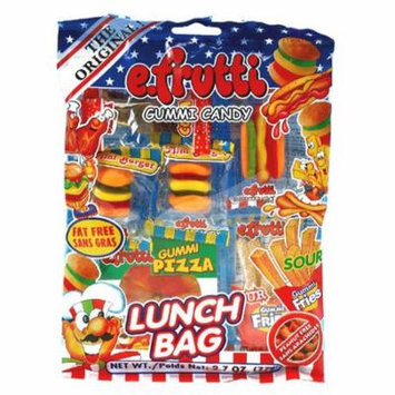 Lunch Bag Gummies Peg Bag: 12Count (Pack of 18)
