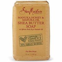 3 Pack - Shea Moisture Manuka Honey & Mafura Oil Shea Butter Soap 8 oz