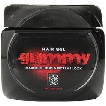 3 Pack - Gummy Hair Gel Maximum Hold Extreme Look 23.5 oz