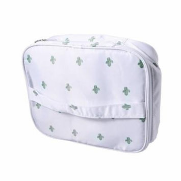 Waterproof Makeup Storage Bag Travel Toiletry Organizer Printed Cosmetic Storage Bag Makeup Pouch(Style B)