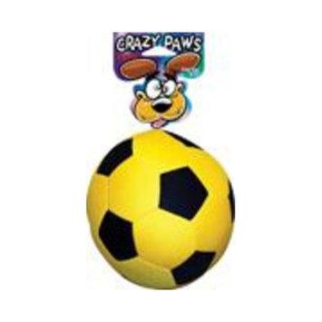 Sergeant's Pet Care Sergeants Pet Care Crazy Paws Plush Soccer Ball Dog Toy