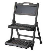 Verena Double Shelf Stand - A & b Home, Grey Ink