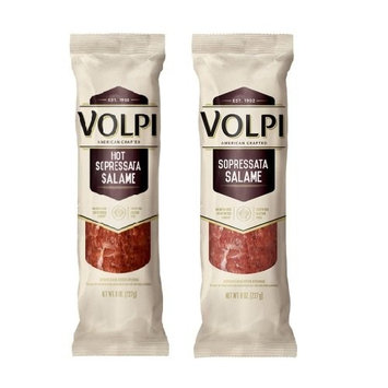 Volpi Salame Signature Duo Pack Hot Sopressata, 16 Ounce