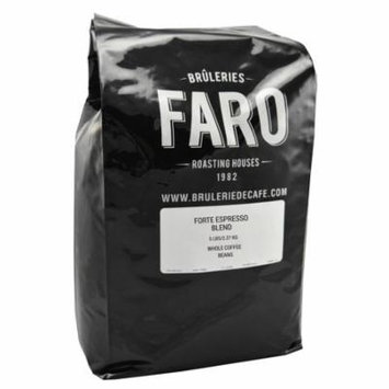 Faro Roasting House Faro Forte Espresso Blend, Creamy With Chocolate Caramel Aromas and a Slight Tangy Touch, Whole Coffee Beans