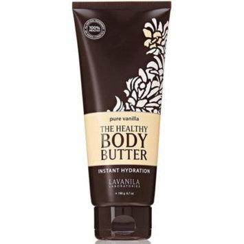 2 Pack - Lavanila The Healthy Body Butter, Pure Vanilla 6.7 oz