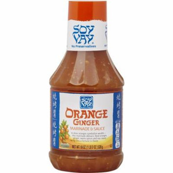 Soy Vay Marinade & Sauce, Orange Ginger, 19 Ounces