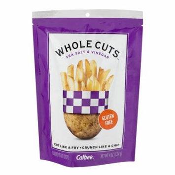 Calbee Whole Cuts Flavored Potato Crisps Sea Salt & Vinegar, 4.0 OZ