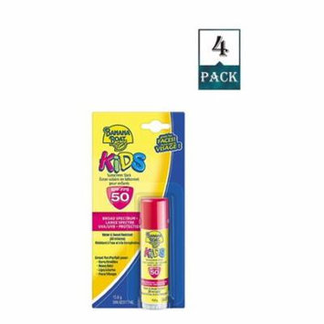 Banana Boat Sunscreen Kids Broad Spectrum Sun Care Spf 50 (Pack Of 4)